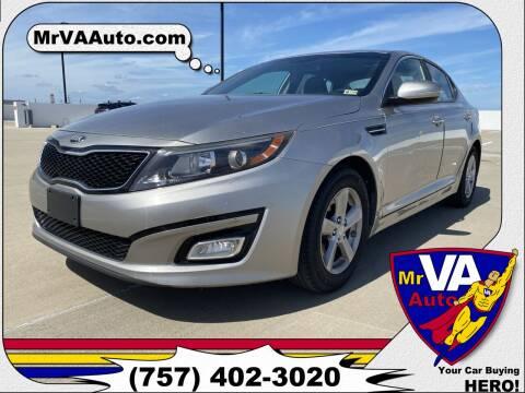 2014 Kia Optima for sale at Mr VA Auto in Chesapeake VA