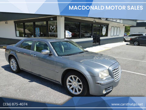 2006 Chrysler 300 for sale at MacDonald Motor Sales in High Point NC