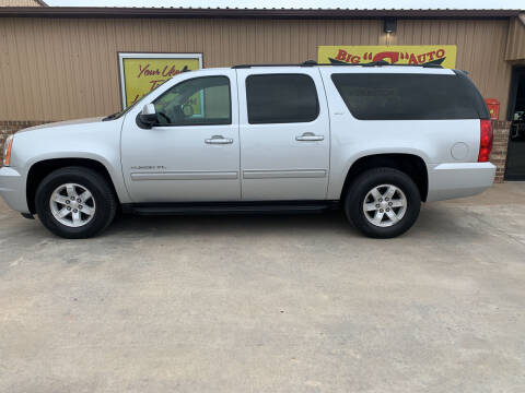 2013 GMC Yukon XL for sale at BIG 'S' AUTO & TRACTOR SALES in Blanchard OK