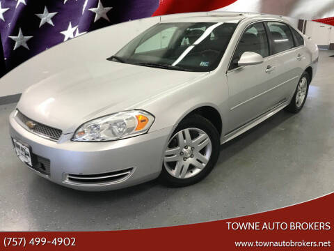 2013 Chevrolet Impala for sale at TOWNE AUTO BROKERS in Virginia Beach VA