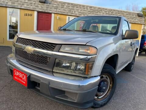 2005 Chevrolet Colorado for sale at Superior Auto Sales, LLC in Wheat Ridge CO