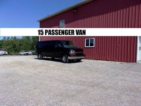 2016 Chevrolet Express Passenger for sale at Windy Hill Auto and Truck Sales in Millersburg OH