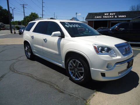 2011 GMC Acadia for sale at Tom Cater Auto Sales in Toledo OH