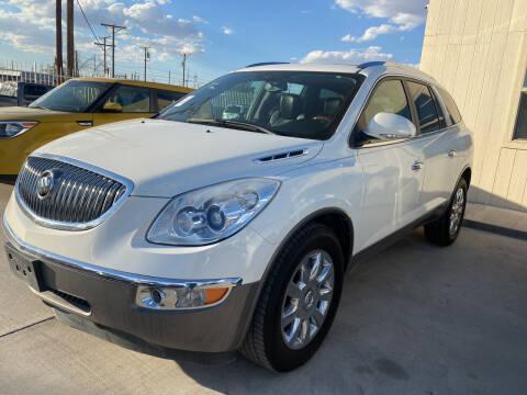 2012 Buick Enclave for sale at Hugo Motors INC in El Paso TX