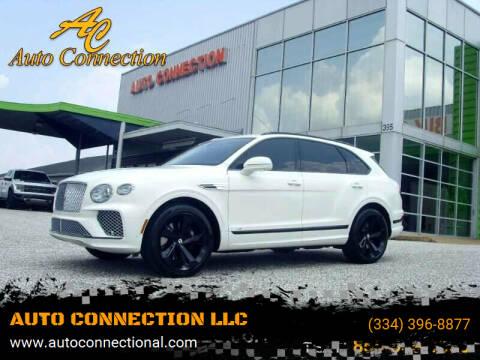 2021 Bentley Bentayga for sale at AUTO CONNECTION LLC in Montgomery AL