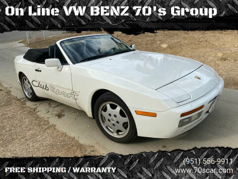 1990 Porsche 944 for sale at On Line VW BENZ 70's Group in Warehouse CA