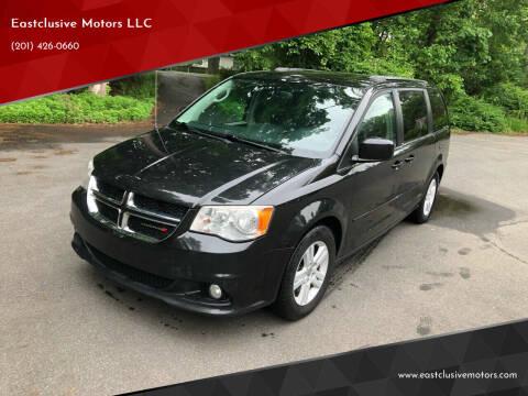 2013 Dodge Grand Caravan for sale at Eastclusive Motors LLC in Hasbrouck Heights NJ