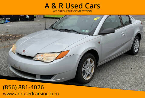 2005 Saturn Ion for sale at A & R Used Cars in Clayton NJ