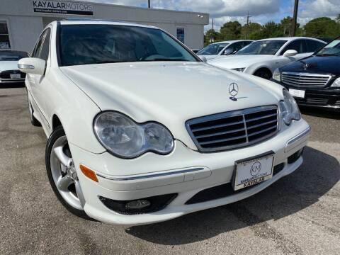 2006 Mercedes-Benz C-Class for sale at KAYALAR MOTORS Mechanic in Houston TX