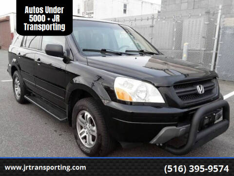 2004 Honda Pilot for sale at Autos Under 5000 + JR Transporting in Island Park NY