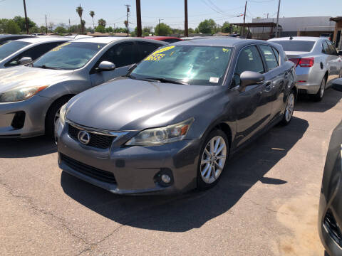 2012 Lexus CT 200h for sale at Valley Auto Center in Phoenix AZ
