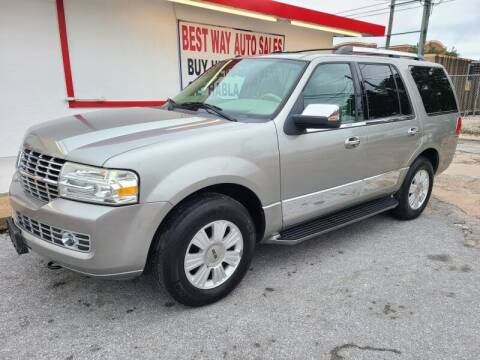 2008 Lincoln Navigator for sale at Best Way Auto Sales II in Houston TX