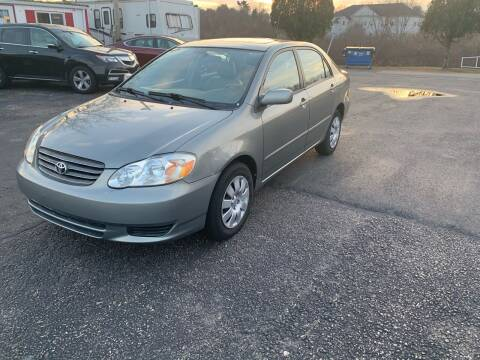 2004 Toyota Corolla for sale at Lux Car Sales in South Easton MA