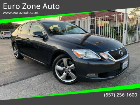 2011 Lexus GS 350 for sale at Euro Zone Auto in Stanton CA