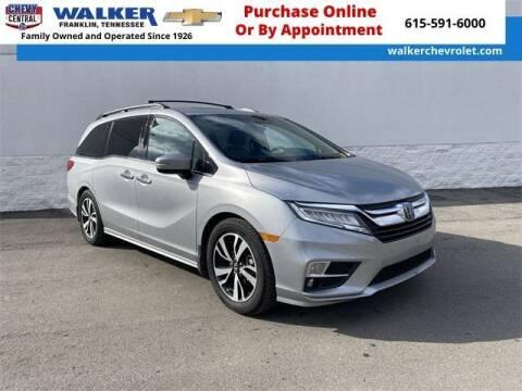 2019 Honda Odyssey for sale at WALKER CHEVROLET in Franklin TN
