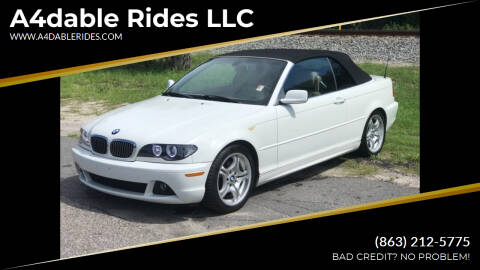 2004 BMW 3 Series for sale at A4dable Rides LLC in Haines City FL