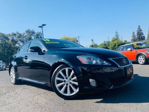 2010 Lexus IS 250 for sale at Alpha AutoSports in Sacramento CA