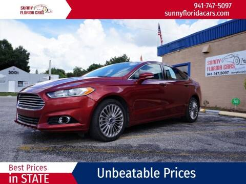 2016 Ford Fusion for sale at Sunny Florida Cars in Bradenton FL