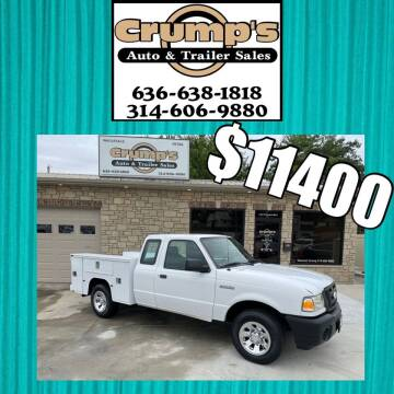 2009 Ford Ranger for sale at CRUMP'S AUTO & TRAILER SALES in Crystal City MO