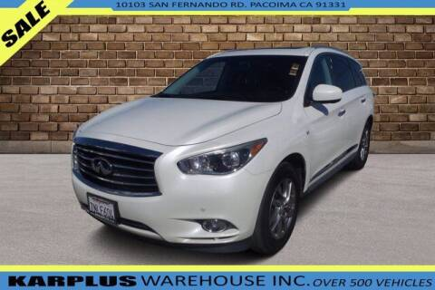2015 Infiniti QX60 for sale at Karplus Warehouse in Pacoima CA