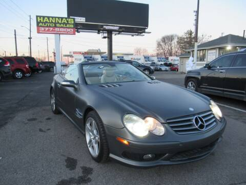2007 Mercedes-Benz SL-Class for sale at Hanna's Auto Sales in Indianapolis IN