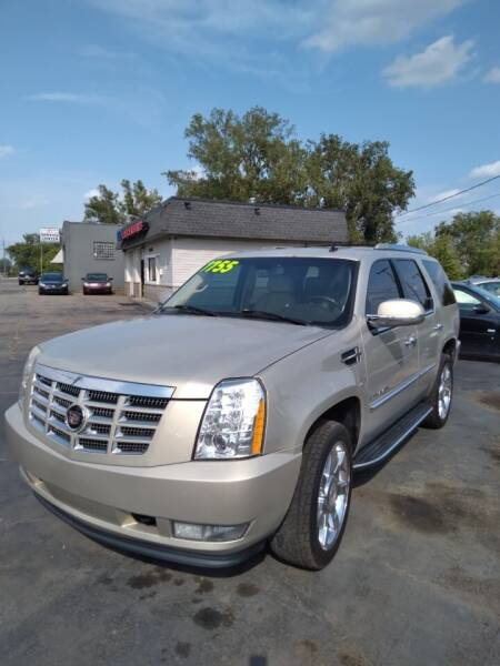 2007 Cadillac Escalade for sale at D and D All American Financing in Warren MI