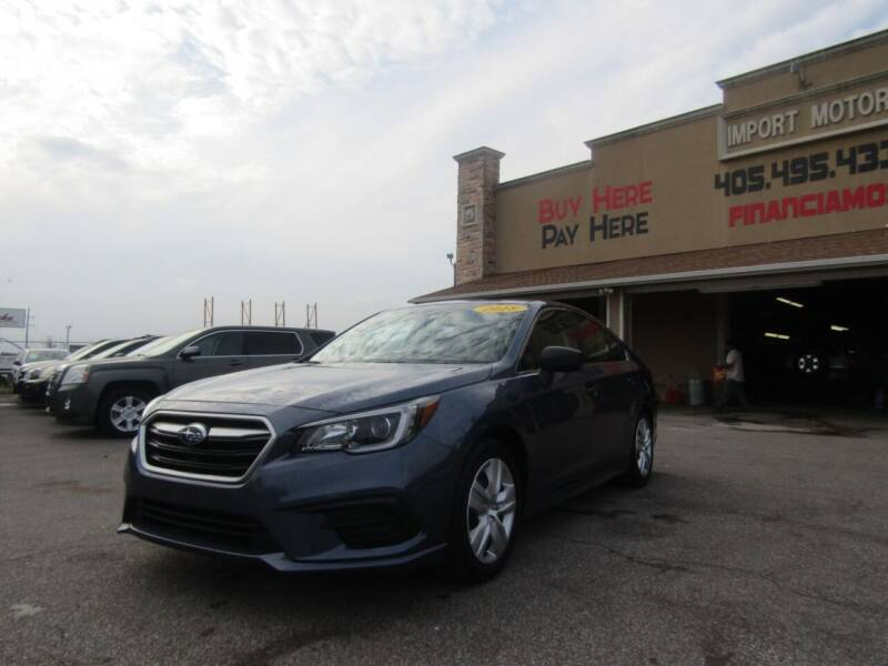 2018 Subaru Legacy for sale at Import Motors in Bethany OK