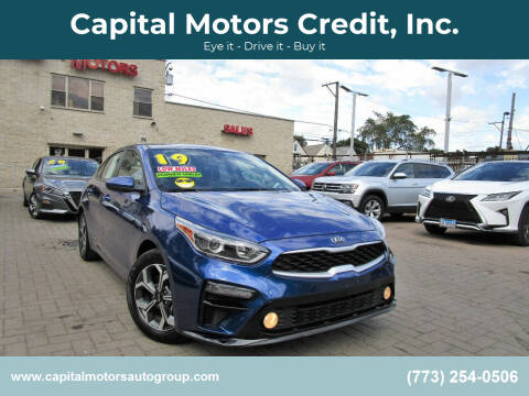 2019 Kia Forte for sale at Capital Motors Credit, Inc. in Chicago IL