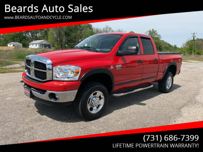 2007 Dodge Ram Pickup 2500 for sale at Beards Auto Sales in Milan TN