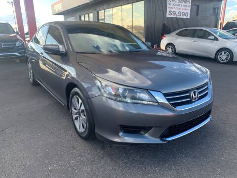 2013 Honda Accord for sale at JQ Motorsports East in Tucson AZ