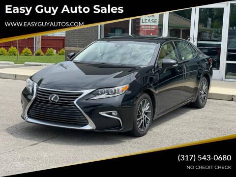 2016 Lexus ES 350 for sale at Easy Guy Auto Sales in Indianapolis IN