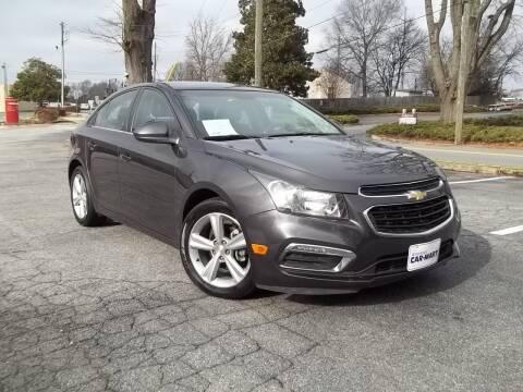 2015 Chevrolet Cruze for sale at CORTEZ AUTO SALES INC in Marietta GA