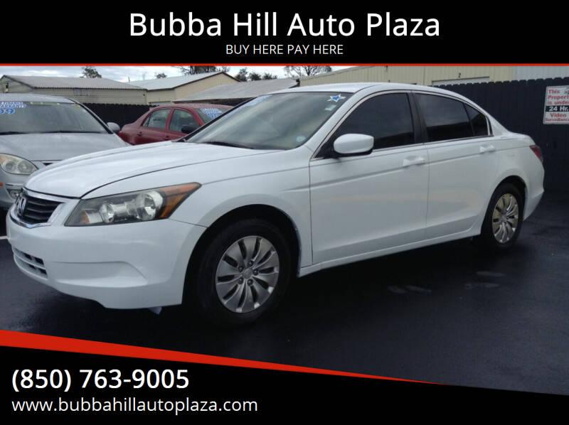 2010 Honda Accord for sale at Bubba Hill Auto Plaza in Panama City FL