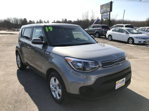 2019 Kia Soul for sale at 21ST CENTURY MOTORS in Gorham ME