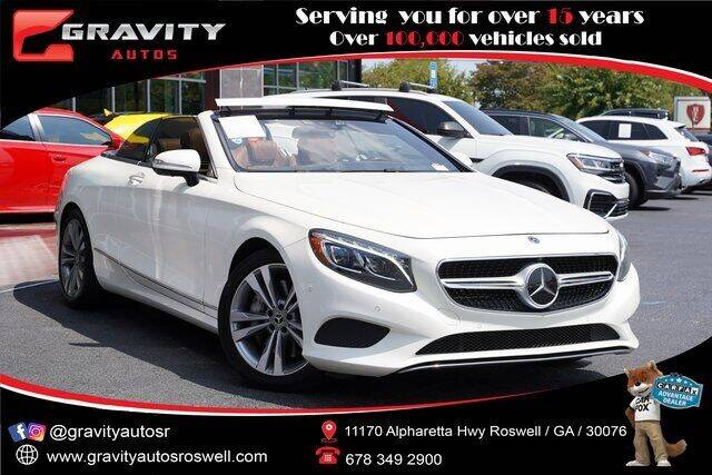 2017 Mercedes-Benz S-Class for sale at Gravity Autos Roswell in Roswell GA