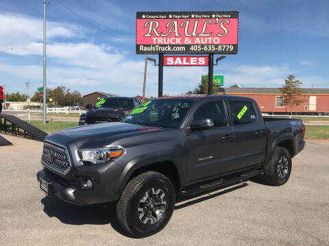 2018 Toyota Tacoma for sale at RAUL'S TRUCK & AUTO SALES, INC in Oklahoma City OK
