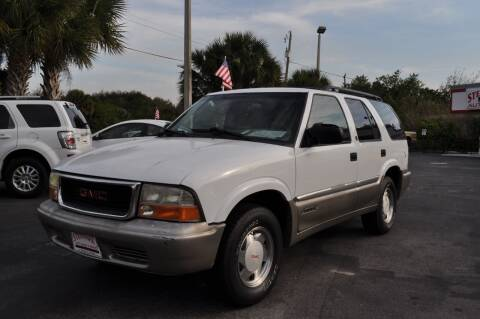 2000 GMC Jimmy for sale at STEPANEK'S AUTO SALES & SERVICE INC. in Vero Beach FL