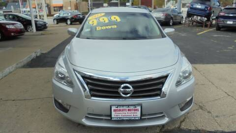 2013 Nissan Altima for sale at Absolute Motors 2 in Hammond IN
