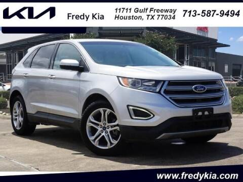 2015 Ford Edge for sale at FREDY KIA USED CARS in Houston TX