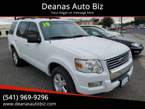 2010 Ford Explorer for sale at Deanas Auto Biz in Pendleton OR