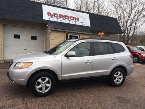 2008 Hyundai Santa Fe for sale at Gordon Auto Sales LLC in Sioux City IA