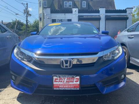 2018 Honda Civic for sale at Buy Here Pay Here Auto Sales in Newark NJ