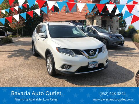 2016 Nissan Rogue for sale at Bavaria Auto Outlet in Victoria MN