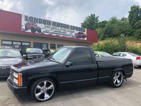 1990 GMC Sierra 1500 for sale at London Motor Sports, LLC in London KY