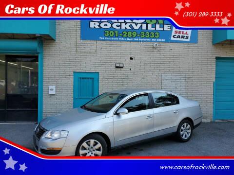 2007 Volkswagen Passat for sale at Cars Of Rockville in Rockville MD