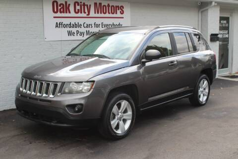 2016 Jeep Compass for sale at Oak City Motors in Garner NC