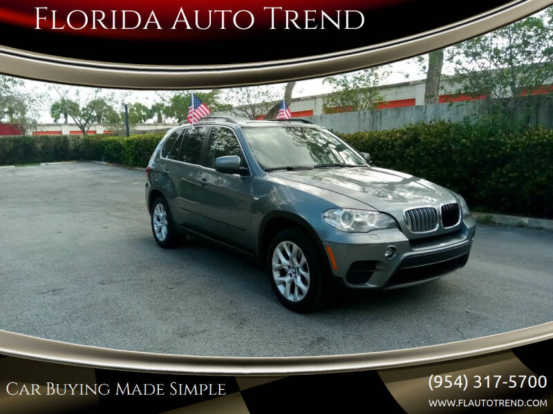 2013 BMW X5 for sale at Florida Auto Trend in Plantation FL