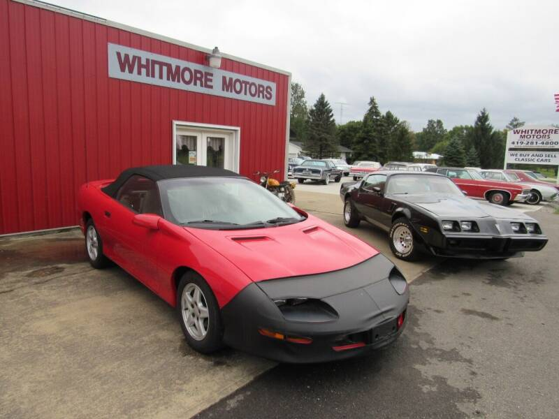 1997 Chevrolet Camaro for sale at Whitmore Motors in Ashland OH