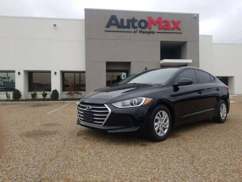 2017 Hyundai Elantra for sale at AutoMax of Memphis - Darrell James in Memphis TN