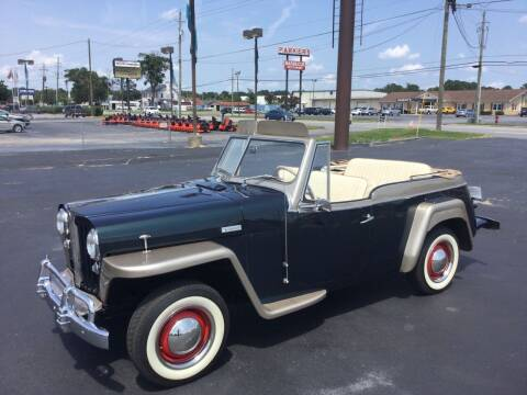 1949 Willys Jeepster for sale at Classic Connections in Greenville NC